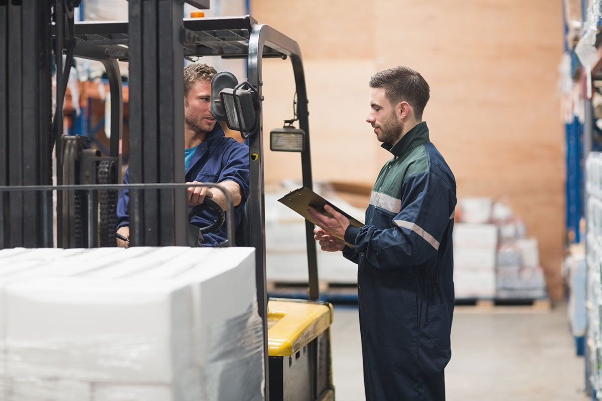 Getting a forklift licence