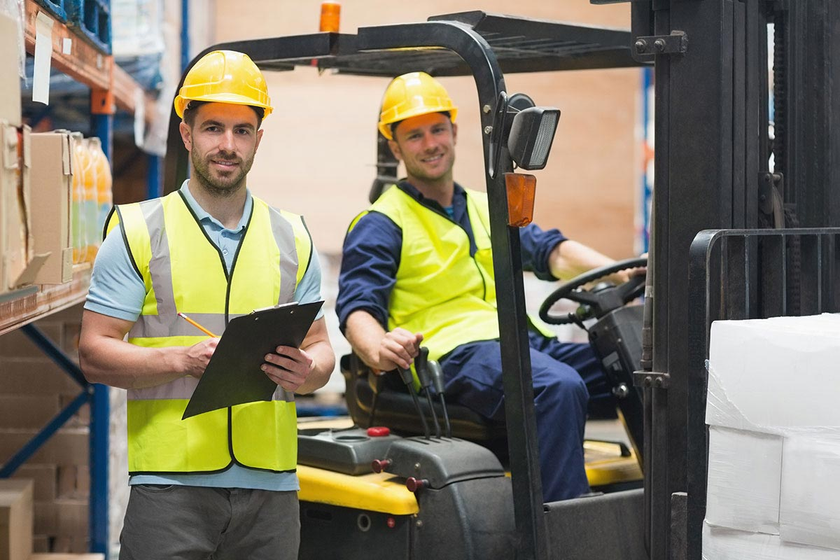 In-Centre Forklift Training