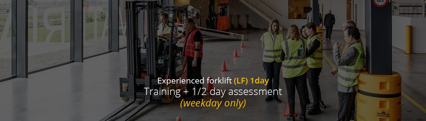 Experienced forklift